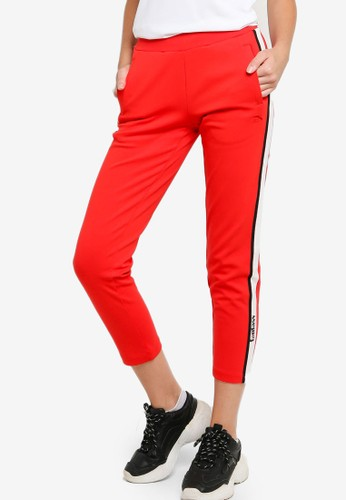Anta red Lifestyle Knit Track Pants 778DAAA55D2DE9GS_1
