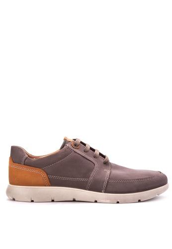 ECCO brown Iowa Smart Casual Shoes EC876SH70ODTPH_1