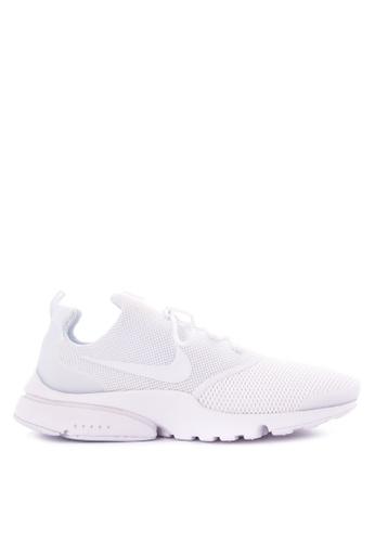 Nike white Men's Nike Presto Fly Shoes NI126SH0KANJPH_1
