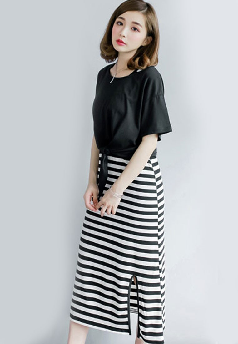 Stripy Day Top Dress Combo