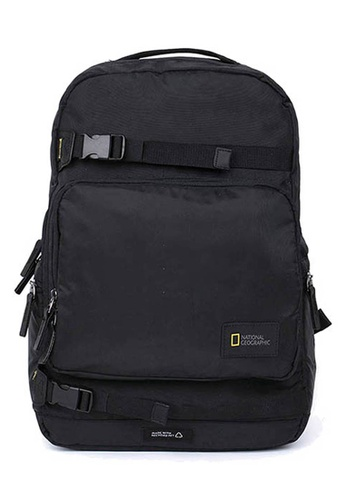 National Geographic black National Geographic Rotor Backpack FDA55AC8BE5E2AGS_1