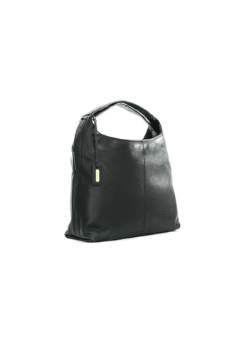 Pierre Cardin black Pierre Cardin Leona Medium Hobo Bag 96397ACA86D512GS_1