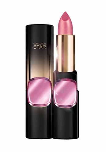 L'Oréal Paris pink L'Oreal Make Up Designer CR Star 24Gold Lipstick N601 ASJP-Nude Gold LO618BE22MJLMY_1