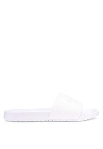 Calvin Klein white Vincenzo Slides 3DECBSH10E75DEGS_1