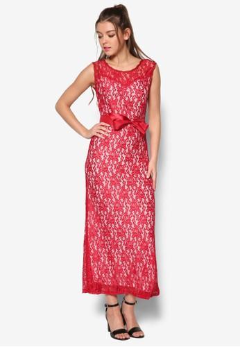 Revoir 蕾絲無esprit outlet 香港袖長洋裝, 服飾, 洋裝