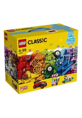 LEGO multi LEGO Classic 10715 Bricks on a Roll (442 Pieces) DA020TH6C9A58EGS_1