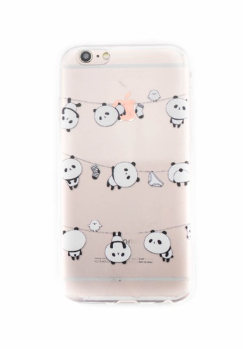 Fancy Cellphone Cases multi Pandas Soft Transparent Case for iPhone 6/6s FA644AC0ITFAPH_1