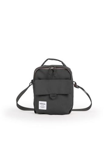 Hellolulu grey Hellolulu Carter XS Mini All Day Shoulder Bag (Iron Gray) EEBADAC479B0F3GS_1