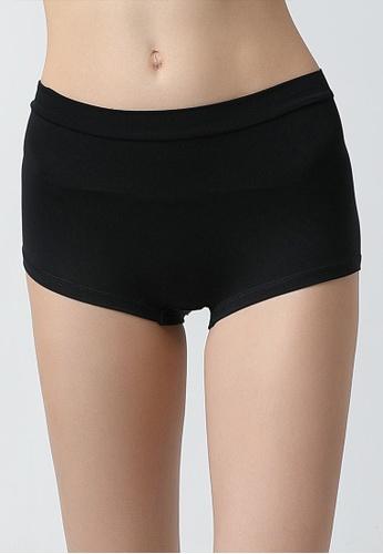 Tani black Tani  Women's MicroModal® AIR Boy Short Panty 6950 A08F6USF45F6E1GS_1