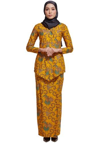 HABRA Kara Kebaya Batik KR63 from HABRA in Blue