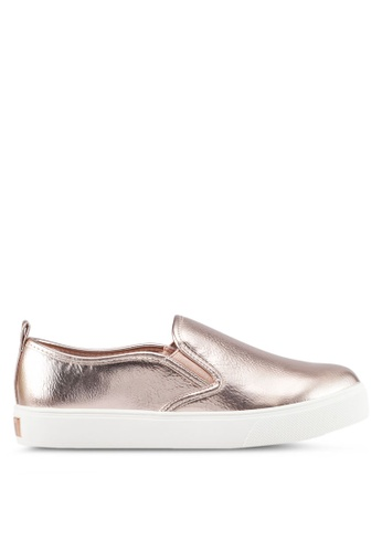 ALDO gold Jille Slip On Shoes 08AB7SHA26856FGS_1