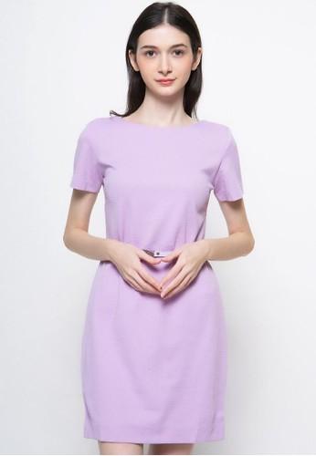 Novo purple and lilac purple Novo Dress Span Tekstur 39868AAF6A3813GS_1