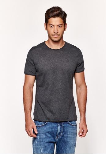 Sisley grey Regular Fit T-shirt 73FD1AA6EF4803GS_1