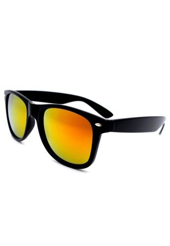 c1e72b7364b Buy Elitrend Unisex Classic Designer Sunglasses in Reflective Red Orange  Online on ZALORA Singapore