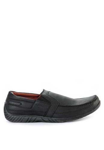 Watchout! Shoes black Slip On Shoes WA021SH52WOLID_1