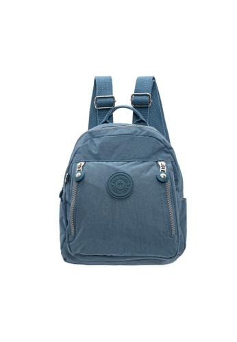 SanPrisco Original 藍色 圣普里斯科保罗 休闲大牙拉链背包 32017ACF796B2CGS_1