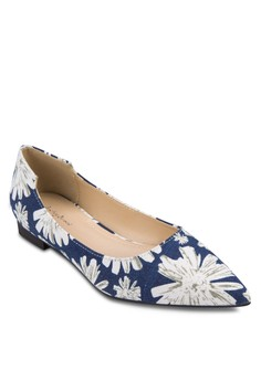 Cut Out Basic Pointed Flats
