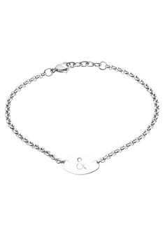 Stainless Steel ID Bracelet Ampersand