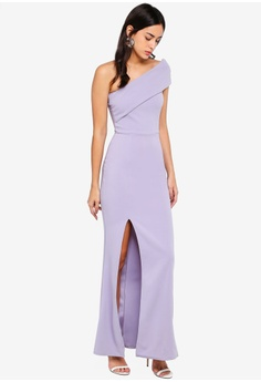 89831e583ee39 53% OFF MISSGUIDED One Shoulder Maxi Dress HK  369.00 NOW HK  172.90 Sizes  10
