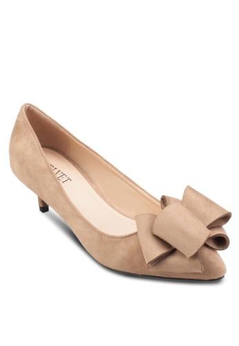 Joyce 蝴蝶結低跟鞋, esprit門市女鞋, 鞋