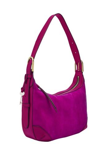 FOSSIL purple Hannah Hobo Bag ZB1309508 67D8BAC51AF96AGS_1