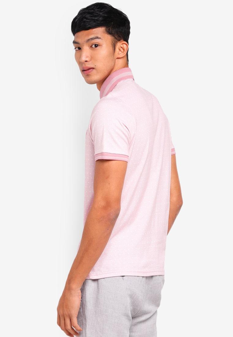 Burton Pink Polo Polka Menswear Pink London Shirt Dot rc1Bc