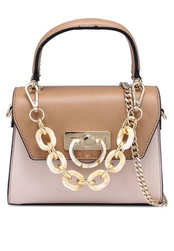 ALDO beige Agruclya Top-Handle Bag 2F166AC1CDEF2BGS_1