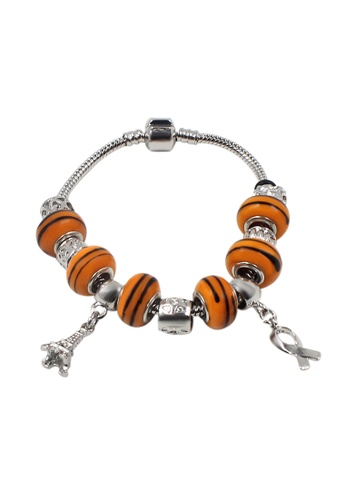 Venice Jewelry orange and silver Venice CB-0013 VE564AC51GRCPH_1