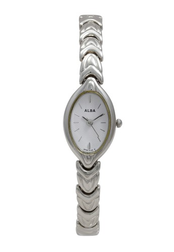 Alba silver ALBA Jam Tangan Wanita - Silver White - Stainless Steel - AC3G61 6F673ACB9BB8DCGS_1