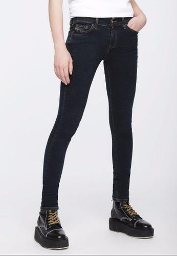 Diesel black Super Skinny Low Waist Slandy Jeans-Den 8A09DAAEB88F45GS_1