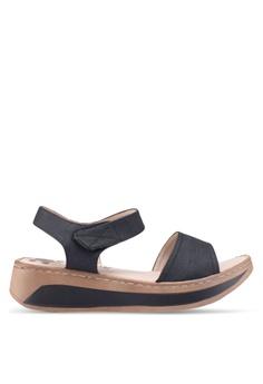 45cd6217c68 Louis Cuppers black Casual Sandals 6D5F6SHDCE7DFCGS 1