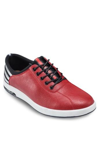 牛皮繫帶休閒esprit 兼職鞋, 鞋, 鞋