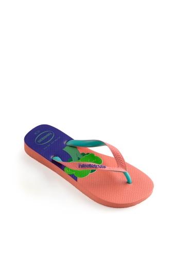 Havaianas orange Top Cool Flip Flops 68FCDSH1014FBEGS_1
