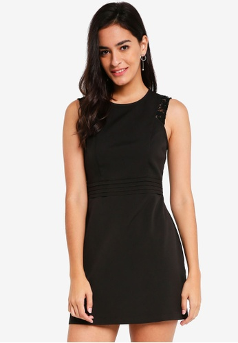ZALORA black Fit And Flare Dress AF08DAA23C71D9GS_1