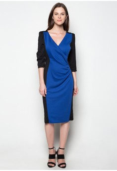 Wrap Front Miracle Dress