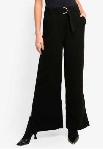Armani Exchange black Flare Pants 7AF6BAA4C62A18GS_1