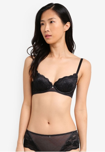 Triumph black Essence Wired Push Up Bra TR217US0SZERMY_1