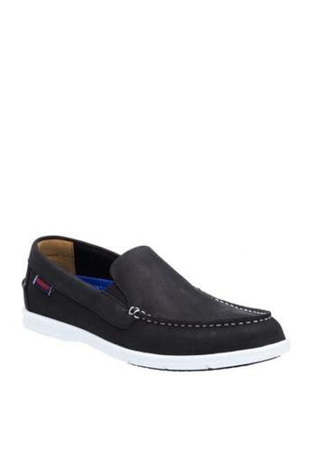 Sebago black Litesides Slip On, Men's Casual Shoes C665ESH43CE2B8GS_1