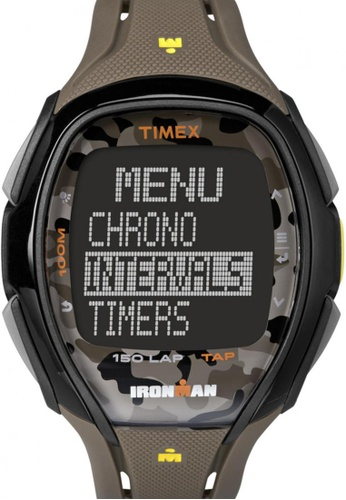 TIMEX multi Timex IRONMAN® Sleek 150 with Multicolour Case and Resin Strap TI857AC00NTRSG_1
