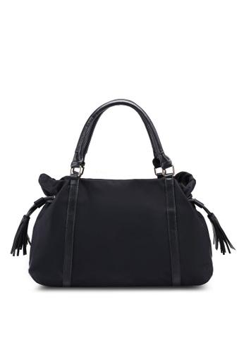 e20cb741112f Buy NUVEAU Trimmed Nylon Shoulder Bag Online on ZALORA Singapore