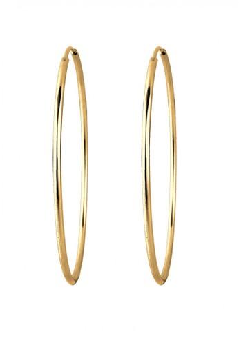 Elli Germany gold Perhiasan Wanita Perak Asli - Creol Silver Lapis Emas Emas C3BFAAC1FE3232GS_1