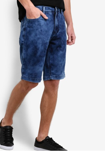 Cloud Wash Tapered Fitesprit sg Shorts, 服飾, 服飾