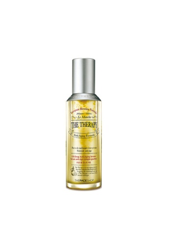 THE FACE SHOP The Therapy Oil-Drop Anti-Aging Serum 9302ABE23C516EGS_1