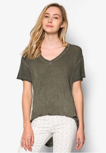 91 簡約短袖T-shirt、 服飾、 服飾CottonOn91簡約短袖上衣最新折價
