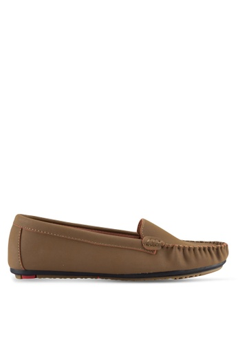 Noveni brown Casual Loafers NO978SH71VTSMY_1