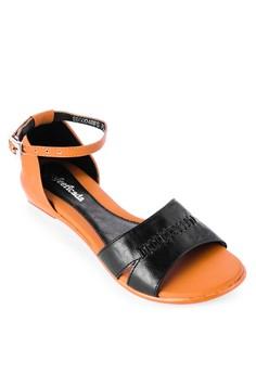 Split Band Flat Sandal
