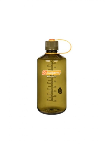 Nalgene green Nalgene 32oz Narrow Mouth Water Bottle - Olive D8DDAACB945392GS_1