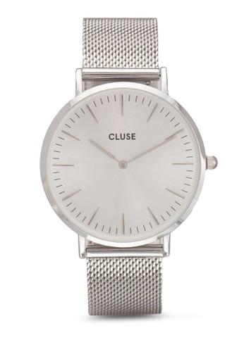 La Bohème 網眼圓框手錶, 錶類, 飾esprit 高雄品配件