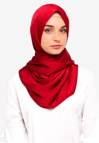 VERCATO red Premium Luxe Satin Shawl 63CF2AA68B4743GS_1