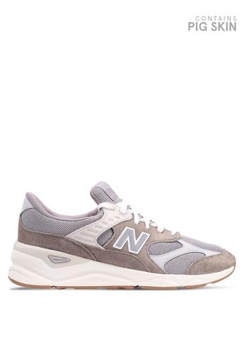 New Balance grey X90 Lifestyle Shoes D526ASH8F01360GS_1